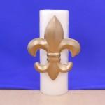 1155 FLEUR DE LIS / LARGE CANDLE PIN