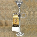 20412GRAPES- GRAPES DESIGN TOWEL HOLDER