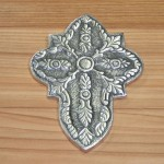 30062- ALUMINIUM WALL CROSS