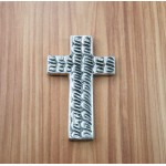 30071- ALUMINIUM WALL CROSS