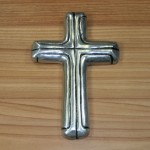 30121- ALUMINIUM WALL CROSS