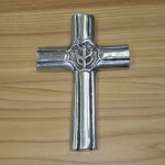 30122- ALUMINIUM WALL CROSS