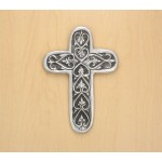 30127- ALUMINIUM WALL CROSS