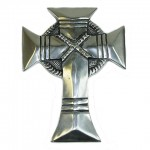 30333- ALUMINIUM WALL CROSS