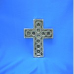 30984- ALUMINIUM WALL CROSS