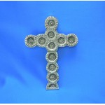 31017- ALUMINIUM WALL CROSS