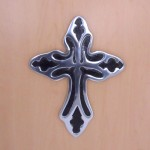 31095- ALUMINIUM WALL CROSS