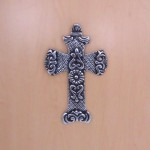 31098- ALUMINIUM WALL CROSS