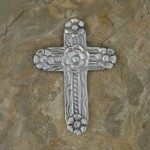 40625- ALUMINIUM WALL CROSS