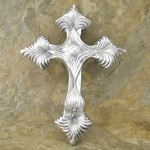 50565-ALUMINIUM WALL CROSS