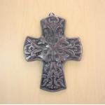 50569C- ALUMINIUM WALL CROSS W/COPPER FINISH