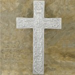 50602-ALUMINIUM WALL CROSS