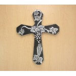 50641- ALUMINIUM WALL CROSS