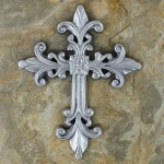 51080- ALUMINIUM WALL CROSS