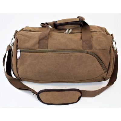 9168 - BROWN  DUFFLE BAG