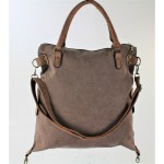 9190 - BROWN DUFFLE BAG