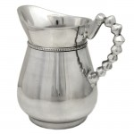52321 - PITCHER W/BEADED HANDLE