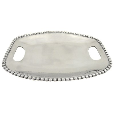 "52320 - BEADED TRAY RECT. W/ CUT-OUT HANDLE 10.5"" X 14"""