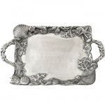 52325 - SEA SHELL LARGE TRAY W/HANDLE