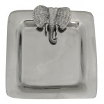 52313-ELEPHANT SQUARE TRAY