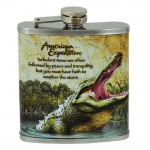 SW9012114 - CROCODILE 7OZ. FLASK
