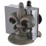 40040 - FLEUER DE LIS BOOK END