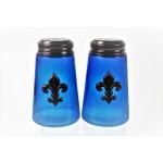 600020COP-BLUE - 2PC. SALT-PEPPER SHAKER BLUE(COP)