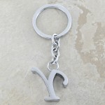 10030-Y PLAIN INITIAL LETTER KEY CHAIN