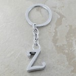 10030-Z PLAIN INITIAL LETTER KEY CHAIN