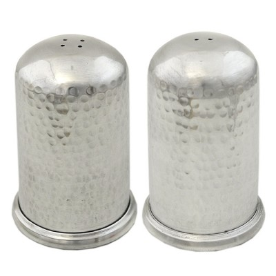 3548- SALT-PEPPER SET HAMMERD