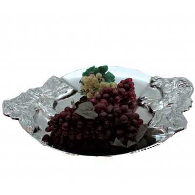 50570 - LARGE TRAY ROUND W/ HORSE HEAD