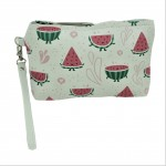 9184 - WATERMELON COIN POUCH OR COSMETIC/MAKEUP BAG
