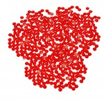 16SS -SIAM RED-SIAM RED RHINESTONE FLATBACK GLUE ON 1440 PCS. (10 GROSS)
