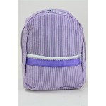 6008 - PURPLE SEER SUCKER BACKPACK