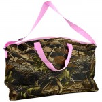 180573PK - CAMOUFLAGE DESIGN TRAVEl,BEACH OR SHOPPING TOTE PINK