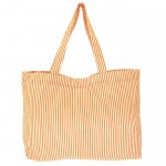 32700-ORANGE SEERSUCKER TOTE