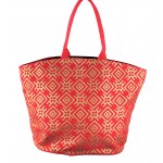 9202 - RED CANVAS TOTE BAG