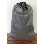 181246-GREY PLAIN LAUNDRY OR UTILITY BAG W/GREY HANDLE