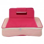 6009 - HOTPINK SEER SUCKER INSULATED CASSEROLE CARRIER W/HANDLE