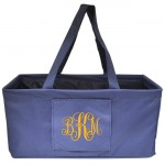 10013-NAVY - NAVY BLUE SHOPPING BASKET OR UTILITY BASKET