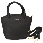 32784 - BLACK PURSE /W HANDLE