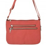 9003 - CORAL LONG STRAP CROSSBODY MESSENGER BAG