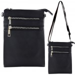 9040A - BLACK SMALL LONG STRAP CROSSBODYBAG