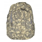 9049 - CAMO DESIGN LARGE BACKPACK