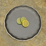 """30518 - ROUND PLATE TRAY 11"""""""