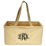 10013 - BEIGE SHOPPING BASKET OR UTILITY BASKET