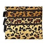 180354 SMALL GOLD LEOPARD BAG