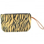 180464-SMALL GOLD ZEBRA POUCH BAG