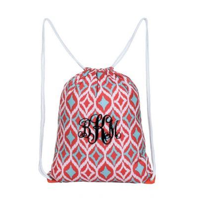6046-MULTI COLOR DESIGN  DRAWSTRING BACK PACK