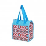 6056 - MULTI COLOR DESIGN  INSULATED LUNCH BAG